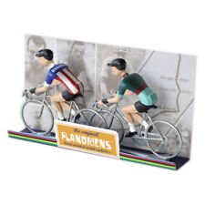 Flandriens Die Cast Metal Brooklyn Cyclist Figure Models USA Model