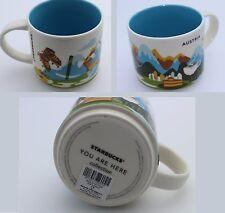 Starbucks AUSTRIA City Mug YAH Austria Cup Tasse * you are here * 14oz NEW