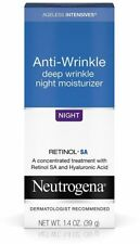 Neutrogena Ageless Intensives Anti-Wrinkle Deep Wrinkle Night 1.4 oz Retinol SA