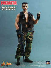 HOT TOYS 1/6 PREDATOR MMS72 MAJOR ALAN DUTCH SCHAEFER MASTERPIECE ACTION FIGURE