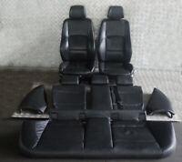 BMW 1 Serie 2 E87 M Sport pelle Nera Sedili Interni con Airbag Porta Carte