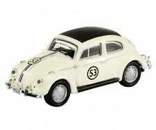 Model Car VW Volkswagen Beetle Rallye #53 Herbie metal DieCast 1/87 Schuco