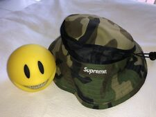 SUPREME VENTED MESH CRUSHER CAMO SS15 SIZE S/M NEW AUTHENTIC