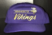 3270893641f Minnesota Vikings American Needle Vintage NFL Football Snapback Hat Cap  Adult OS