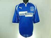 Everton Home football shirt 2000 - 2002 soccer jersey Umbro One2One Size XL