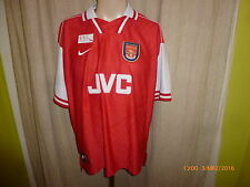 "Arsenal London Original Nike Heim Trikot 1996/97 ""JVC"" Gr.XXL TOP"
