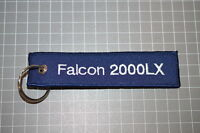 Dassault Falcoln 2000LX / Remove Before Flight Keyring Zip Puller (A)