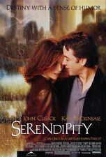 SERENDIPITY Movie POSTER 27x40 John Cusack Kate Beckinsale Molly Shannon John
