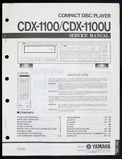 YAMAHA CDX-1100 CDX-1100U Original CD-Player Service-Manual/Diagram o138