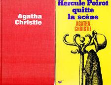 Agatha CHRISTIE // Hercule POIROT quitte la scène // 1 ère édition