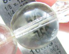 "Vintage Deco Pools of Light Rock Crystal Orb 66"" Long Necklace -95 orbs 295grams"