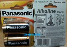 2 x Pila Alcalina D LR20 1,5v PANASONIC Alkaline Power, XL, AM1, MN1300