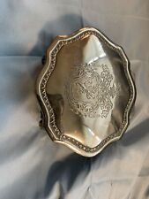 antique sterling silver jewelry box