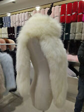 Fashion New Long Womens Real Fox Fur Knit Scarf Wrap Accessories