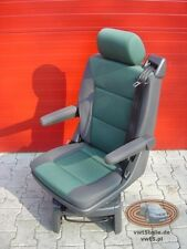 VW T5 Drehsitz Multivan Sitz Anthrazit Duo Grun Stoff swivel seat