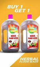 Aloe Clean Herbal Floor Wash 1000 ml (Pack of 2) Contain Reetha + Citronella Oil