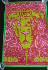 Rare Ween Silkscreen Poster 2007 Tower Theater Todd Slater Limited Ed #59/200
