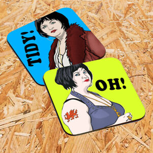 Nessa Coaster Set, Unofficial Fanart, Gavin and Stacey, Ness Coasters