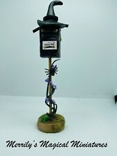 More details for reduced dolls house witches post box 1/12 fantasy garden