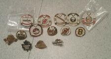 Vintage lot of 14 NHL pin badge