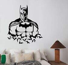 Batman Wall Decal Vinyl Sticker Comics Superhero Art Kids Bedroom Decor bat19