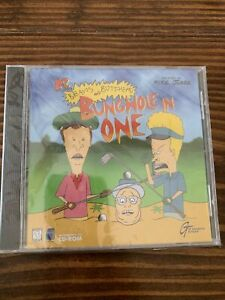 Beavis and Butt-head: Bunghole in One Video Game CD Rom MTV Vtg 1998 RARE Golf