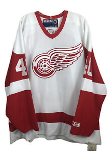 Bill Ranford #40 Detroit Red Wings Authentic CCM Jersey NWT - Men's 2XL
