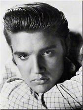 Elvis Presley Porträt Magnet  6x8 cm 14236 Kühlschrankmagnet Schild Sign