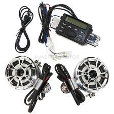 Audio Radio FM MP3 Speaker For Honda Forza Ruckus Reflex Elite Silver Wing