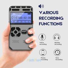 Voice Activated Mini Spy Digital Sound Audio Recorder Dictaphone MP3 Player 64G