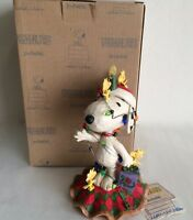 """Jim Shore ~ 2017 ~ Peanuts Gang Snoopy ~ """"Decked Out for the Holidays"""" ~ NIB"""