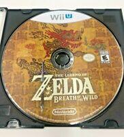 The Legend of Zelda: Breath of the Wild (Wii U, 2017)  **LOOSE COPY**