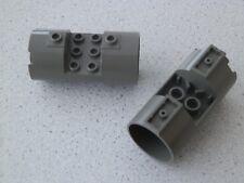 Lego 30360# 2x cilindros 3x6x2 gris ALT gris oscuro 7131 1349