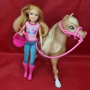 Barbie Stacie A Pony Tale Horse Rideing Teen Sister Mattel Doll