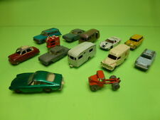 LOT of 13 VEHICLES  LESNEY - AMBULANCE TRUCK CARAVAN FERRARI FORD GT