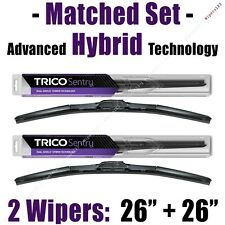 "Matched Set of 2 Hybrid Wipers 26""+26"" Trico Sentry Wiper Blades - 32-260 32-260"