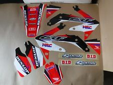 TEAM HONDA FACTORY GRAPHICS  CRF450R  CRF450 2005 2006 2007 2008