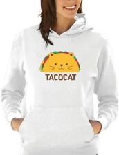 TacoCat Spelled Backwards Is Taco Cat Funny Women Hoodie Palindrome