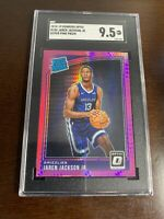 2018-19 Panini Donruss Optic Jaren Jackson Jr Rated Rookie Hyper Pink Prizm SGC