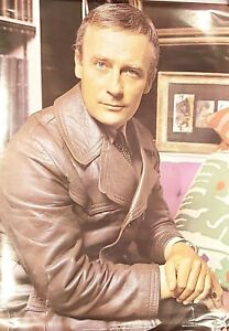 """Pace international poster, Vintage Edward Woodward, Full Colour 27"""" x 19"""""""