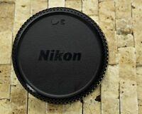 Excellent Genuine Nikon NIKKOR LF-1 Rear Lens Cap F Mount AF-S AF Ai-S (#1498)