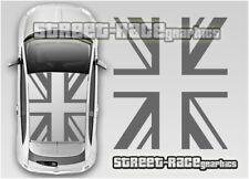 FIAT 500 OTT020 del tetto Bandiera Union Jack Adesivi Decalcomanie Grafiche