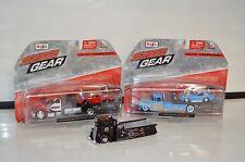 (3) Three Maisto Speed Gear Elite Transport Flatbed