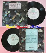 LP 45 7'' EVERYTHING BUT THE GIRL I don't want to talk about it Oxford*cd mc dvd