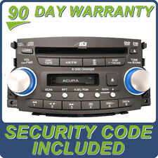 2004 04 Acura TL Radio Stereo 6 Disc Changer CD DVD Player 39100-SEP-A000 1TB0