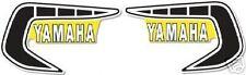 YAMAHA 1981 YZ465 VINTAGE FUEL TANK DECALS