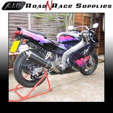 Kawasaki ZXR400 H 1989-1990 A16 Exhaust CARBON ROAD LEGAL with Removable Baffle