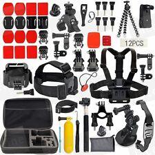 Accessories Pack Case Strap Mount Kit for Gopro HERO 5 3+ 4 SJ4000 SJ5000 SJ6000