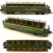 Weiberitztalbah Rail Ways Observation and Sightseeing Passenger Train Car