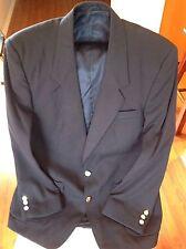 Men's Navy Pure Wool Blazer/Sports Coat. Size 42/107R. Brand New.Fantastic Price